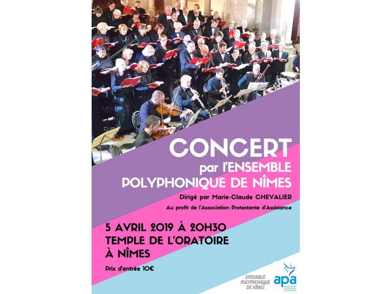 Concert par l'Ensemble Polyphonique de Nîmes